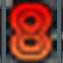 Logo der Kryptowährung 808Coin 808