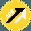 Logo der Kryptowährung APR Coin APR