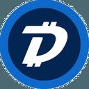 Logo der Kryptowährung DigiByte DGB