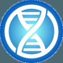 Logo der Kryptowährung EncrypGen DNA