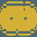 Logo der Kryptowährung GoldBlocks GB