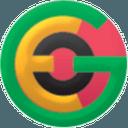 Logo der Kryptowährung GeoCoin GEO