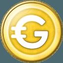 Logo der Kryptowährung GoldCoin GLD