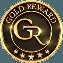 Logo der Kryptowährung GOLD Reward Token GRX