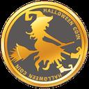 Logo der Kryptowährung Halloween Coin HALLO