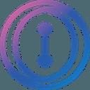 Logo der Kryptowährung iQuant IQT
