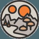 Logo der Kryptowährung Decentraland MANA