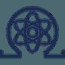 Logo der Kryptowährung Quantum Resistant Ledger QRL