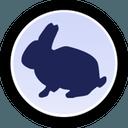 Logo der Kryptowährung RabbitCoin RBBT