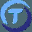 Logo der Kryptowährung TrueUSD TUSD